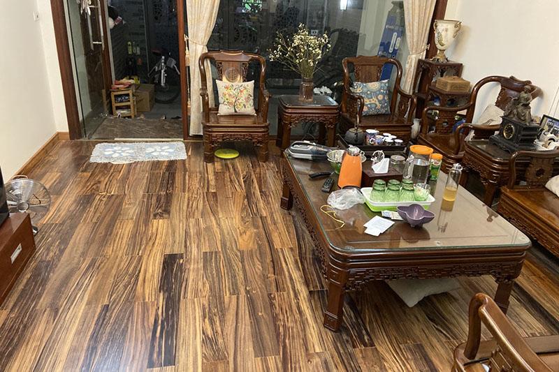 sàn gỗ mun đẹp
