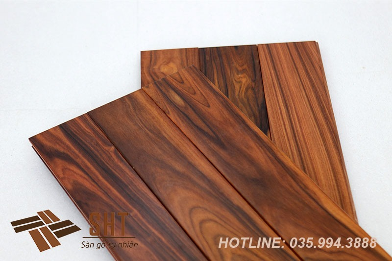 sàn gỗ cẩm lai nam phi vệ sinh như nào