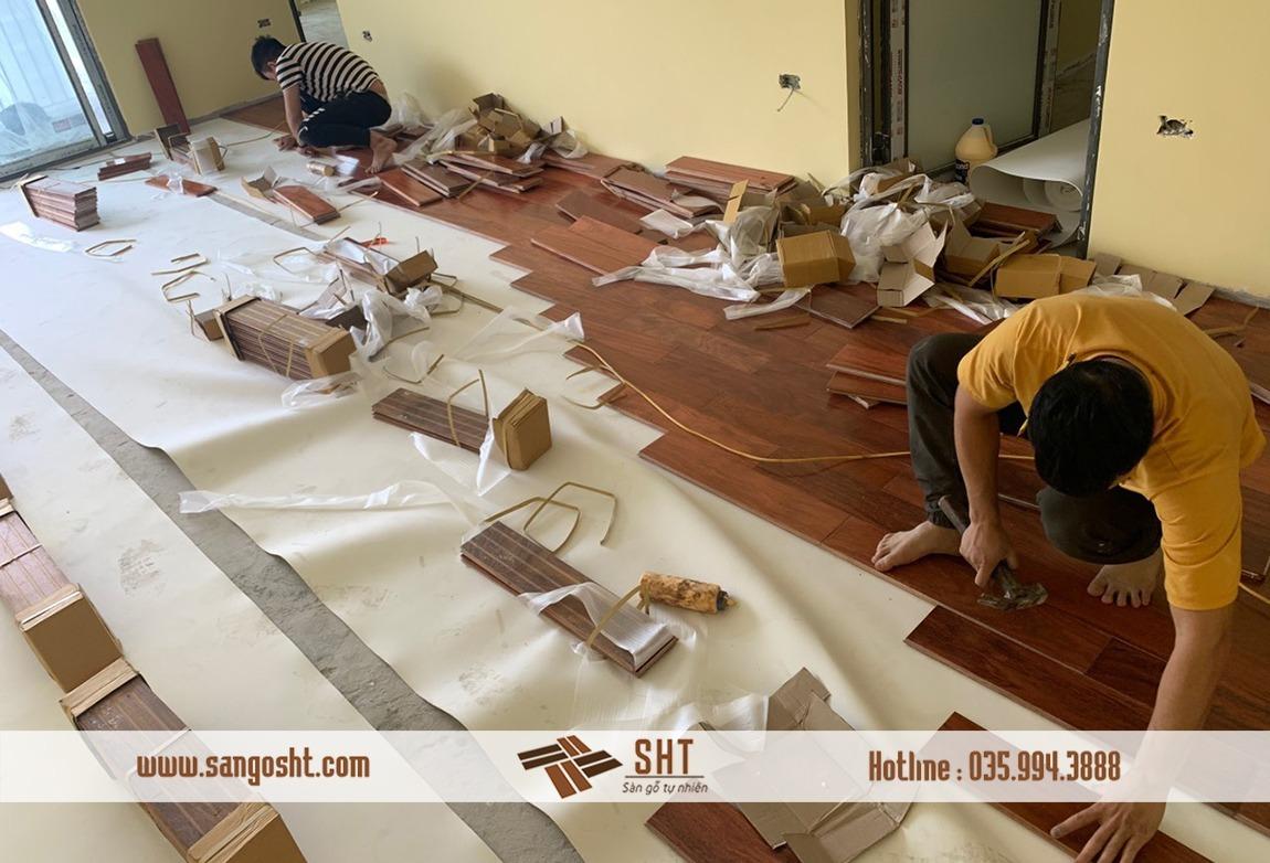 Báo giá sàn gỗ lim nam phi