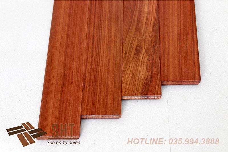 sàn gỗ cẩm trắc tự nhiên