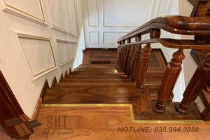 sàn gỗ cầu thang gỗ cẩm