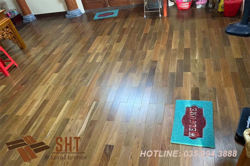 khắc phục khe hở sàn gỗ