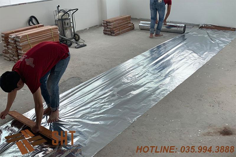 lắp đặt sàn gỗ tự nhiên cao cấp
