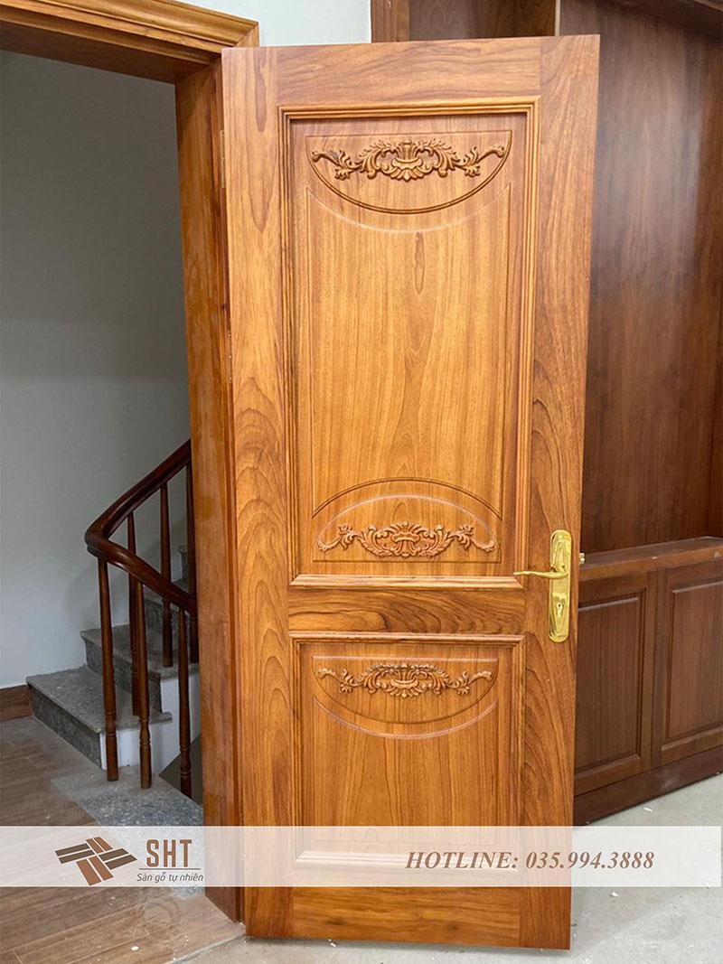 cửa thông phòng gỗ gõ đỏ Phachyloba