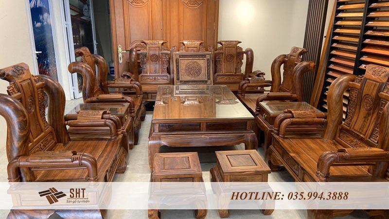 Bộ bàn ghế giả cổ Tần Thủy Hoàng