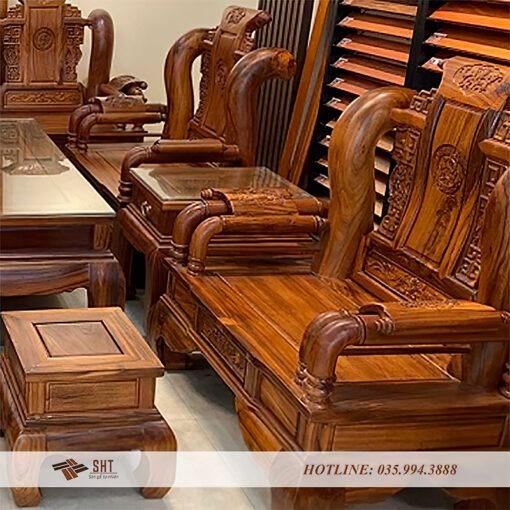 bàn ghế giả cổ 02
