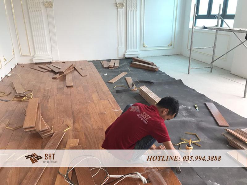 Công ty gỗ tự nhiên SHT với đội ngũ nhân viên giàu kinh nghiệm