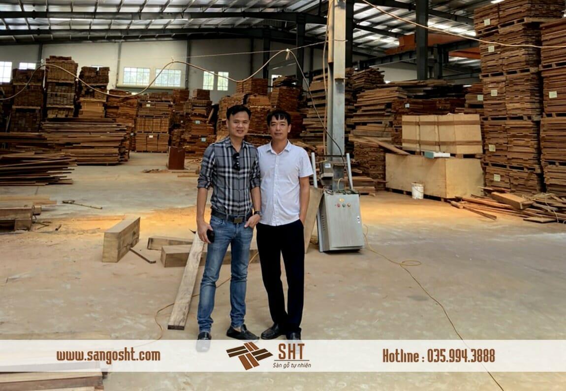Nhà máy sản xuất sàn gỗ tự nhiên SHT