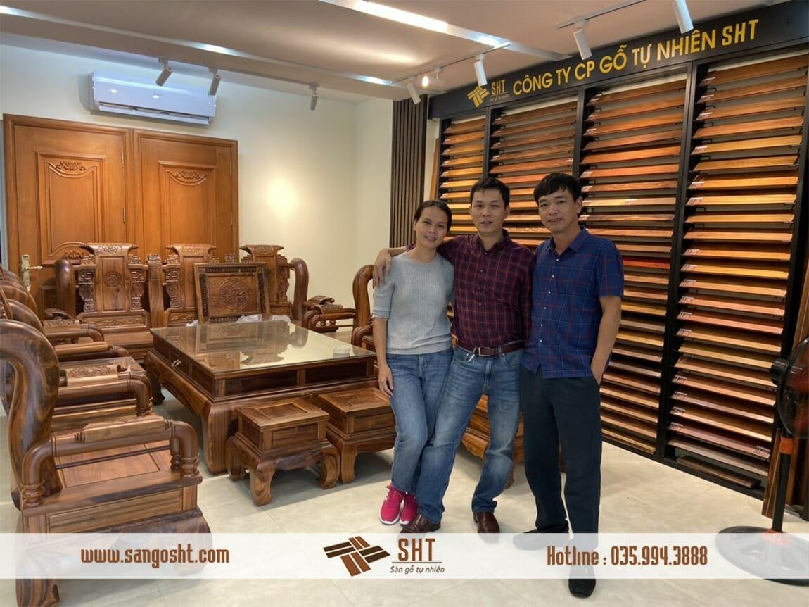 Sàn gỗ tự nhiên SHT