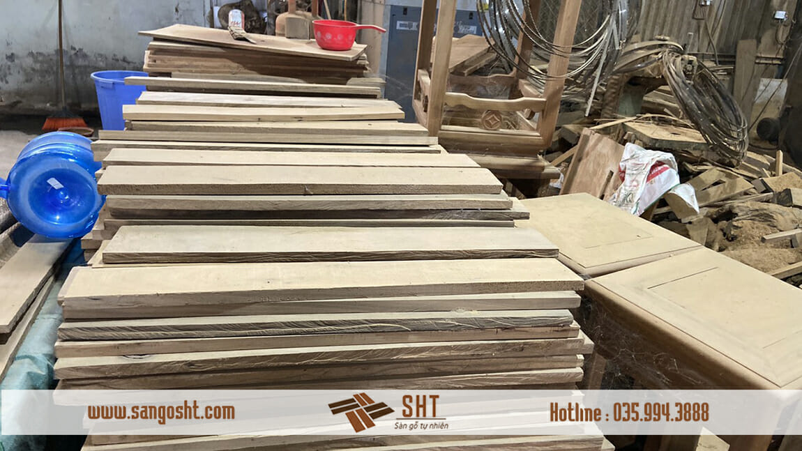 Nguyên liệu làm sàn gỗ bách xanh việt
