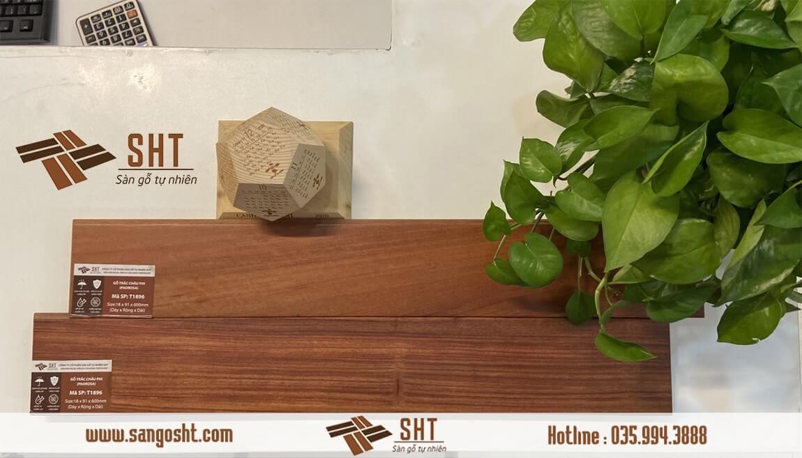 Sàn gỗ Cẩm - Trắc Châu Phi