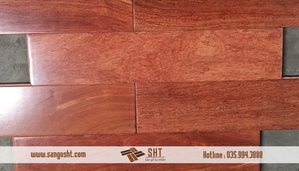Sàn gỗ hương lào SHT