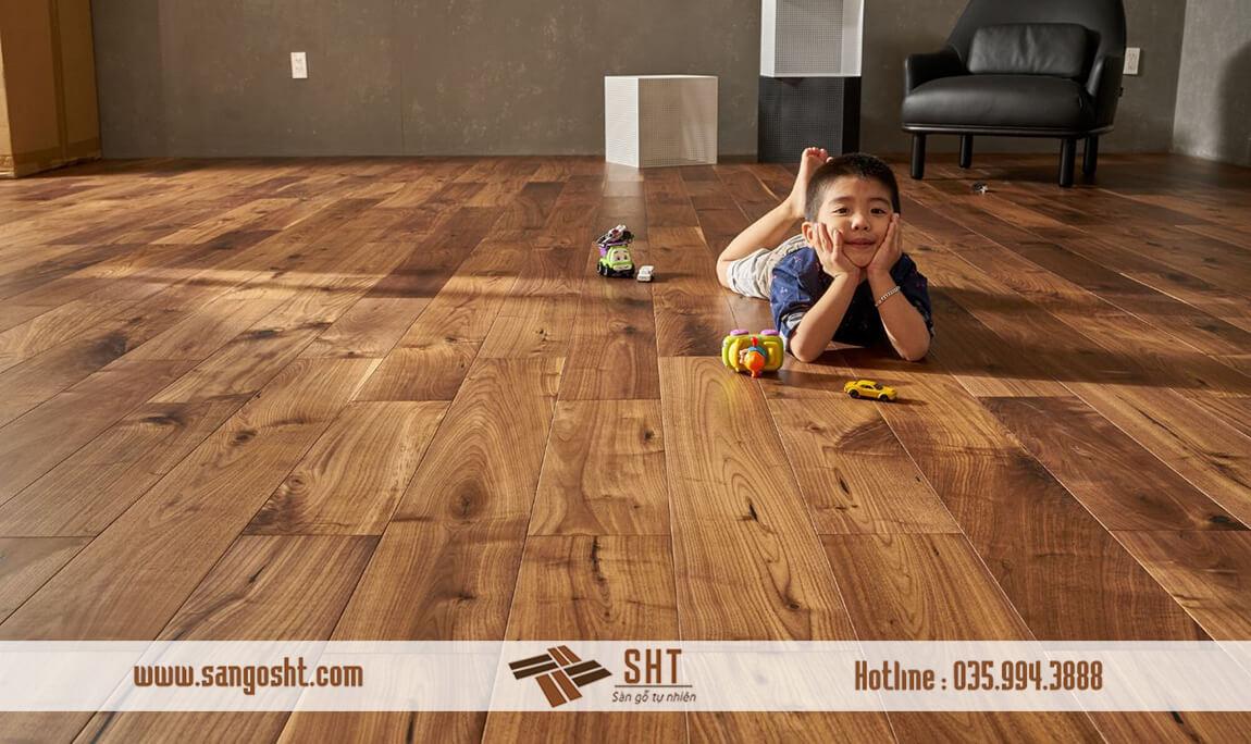 Sàn gỗ Lim có Vân gỗ và độ bền xuyên thế kỷ