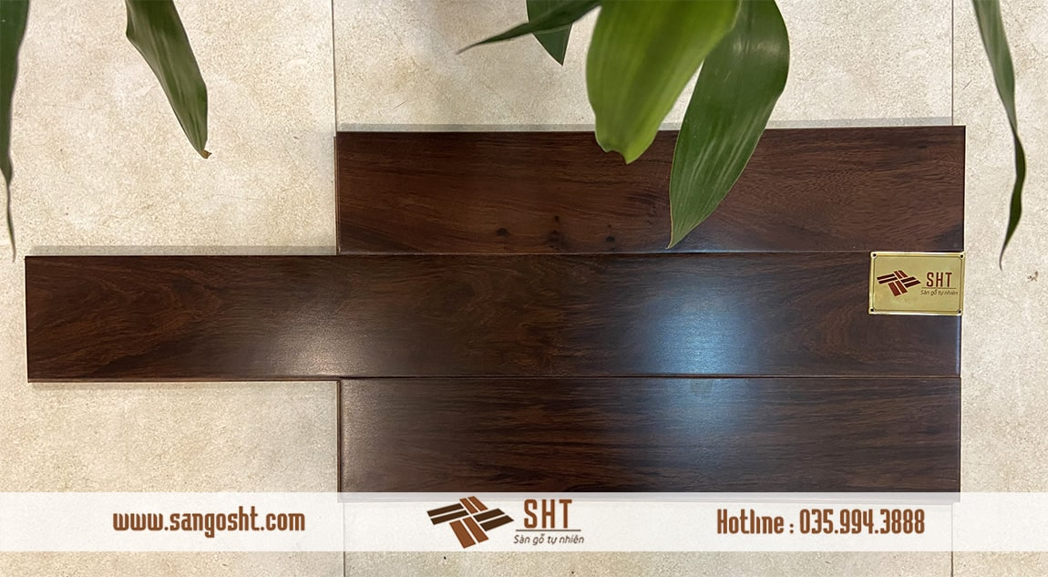 Sàn gỗ chiu liu Lào