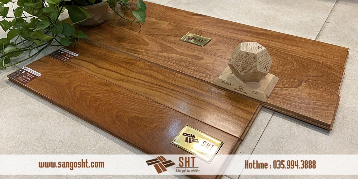 Sàn gỗ gõ đỏ có tốt không ?