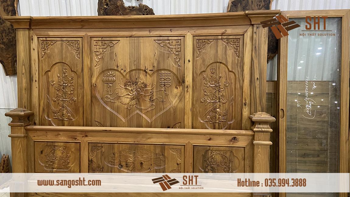 Tủ gỗ bách xanh cao cấp