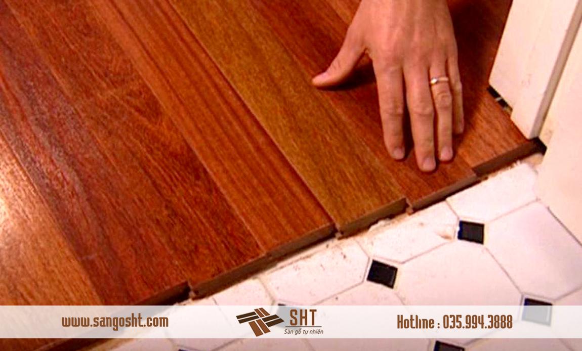 Cách lắp đặt sàn gỗ