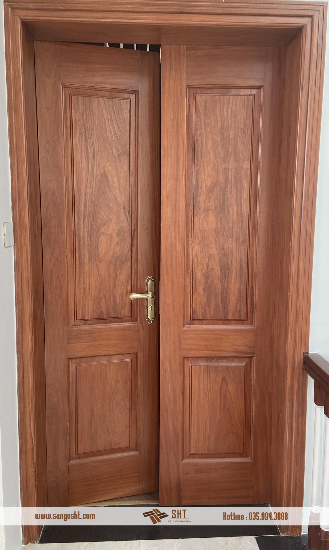 Hoàn thiện cửa gỗ
